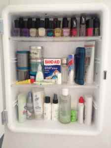 My medicine cabinet - not too bad